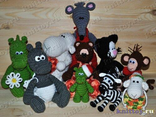 Вязаные игрушки от knittoy