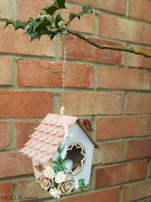 Бумажный домик для птиц