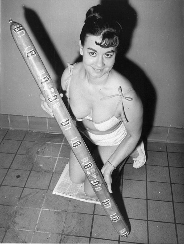 Salami Girl, 1966.jpg