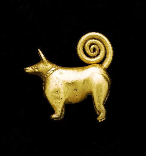 Elamite Dog Amulet of the goddess Gula, Circa 3rd Millennium BC.png