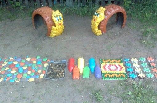 Поделки для улицы для детей