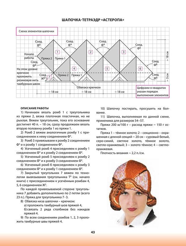 Вязание треугольника спицами пэчворк 92