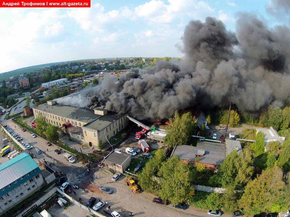 Пожарные подвели итоги 2014 года
