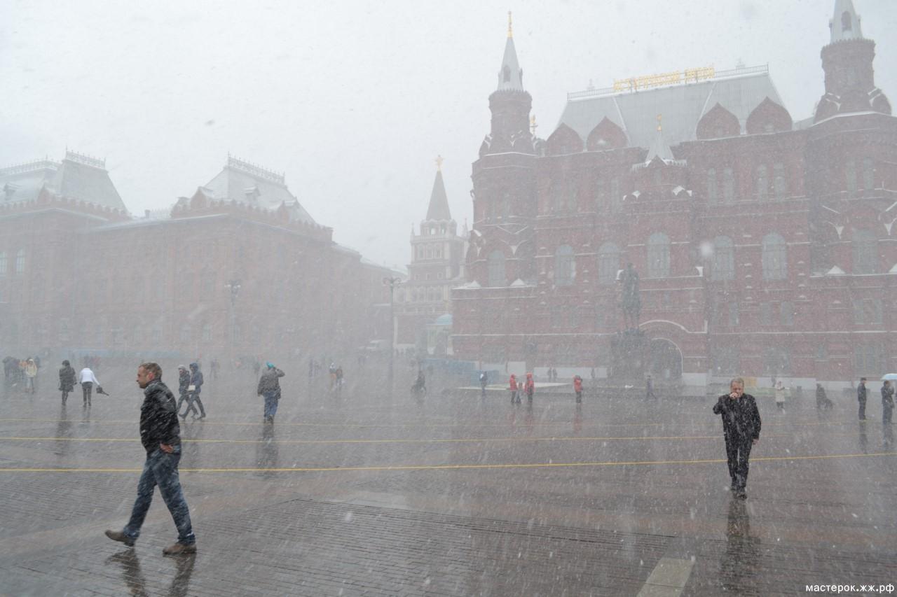 фото погода сегодня в москве