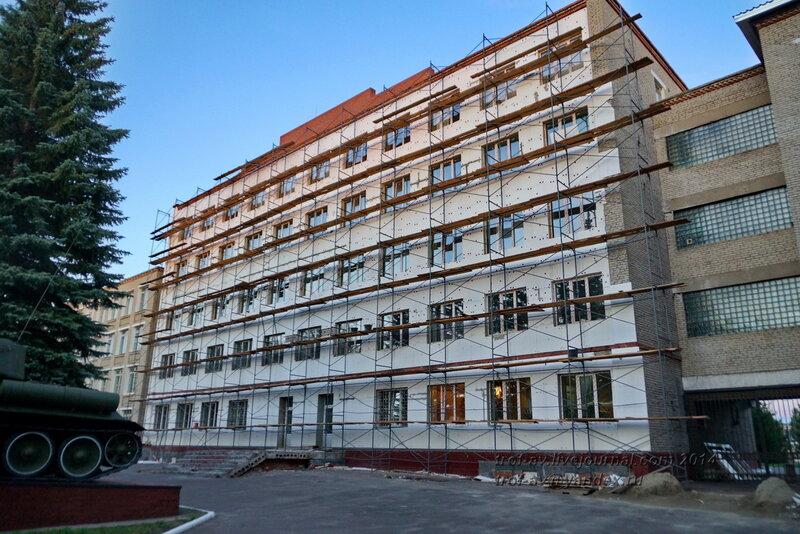 Ремонт штаба, ОВТИУ-ОТИИ-ОАБИИ