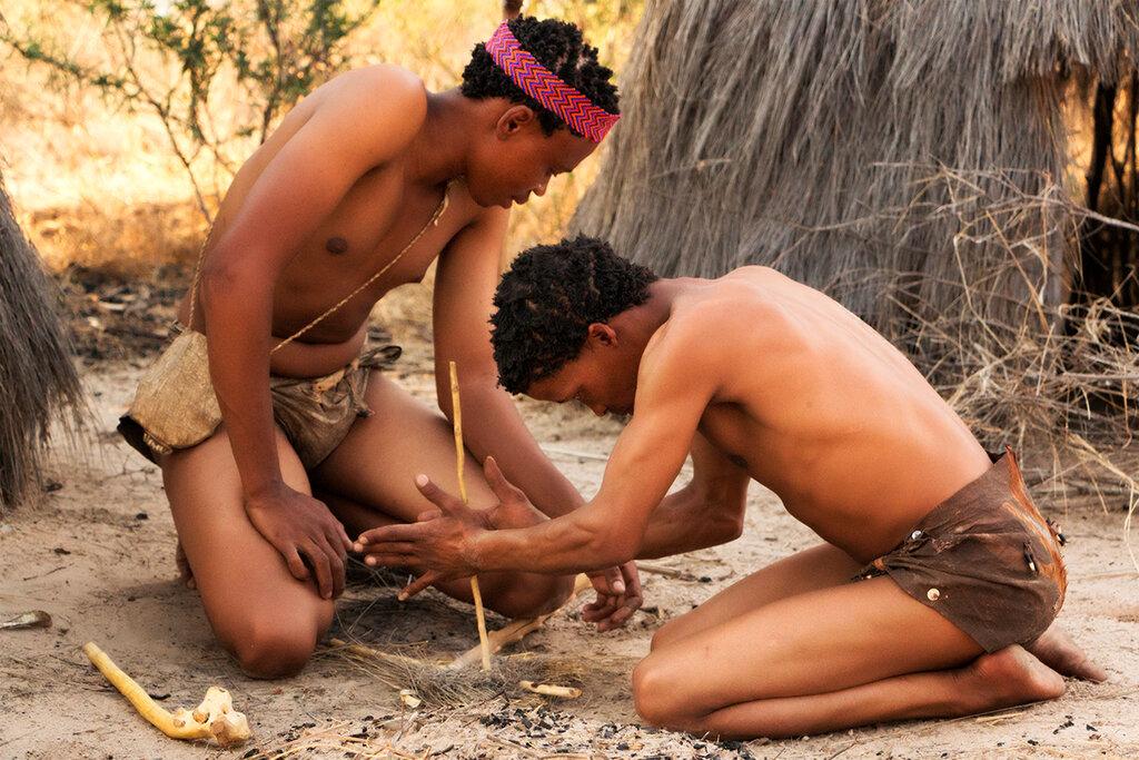 голые африканские туземцы-фу3