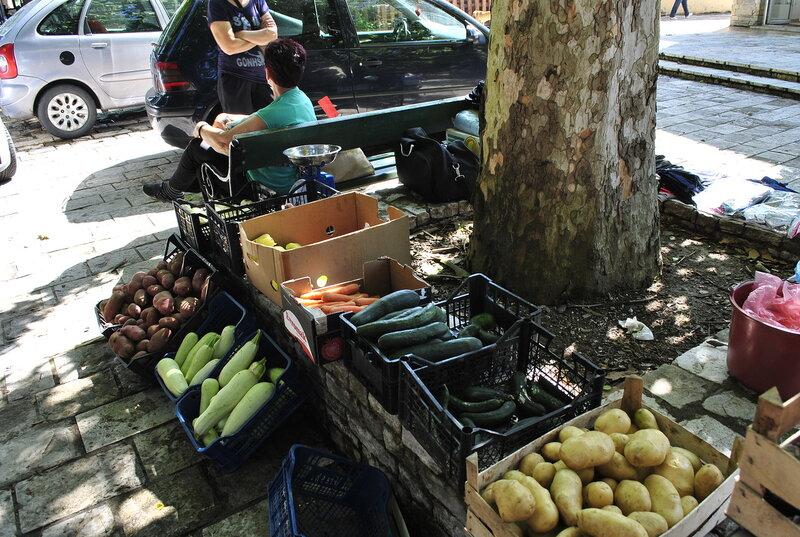 рынок в Черногории