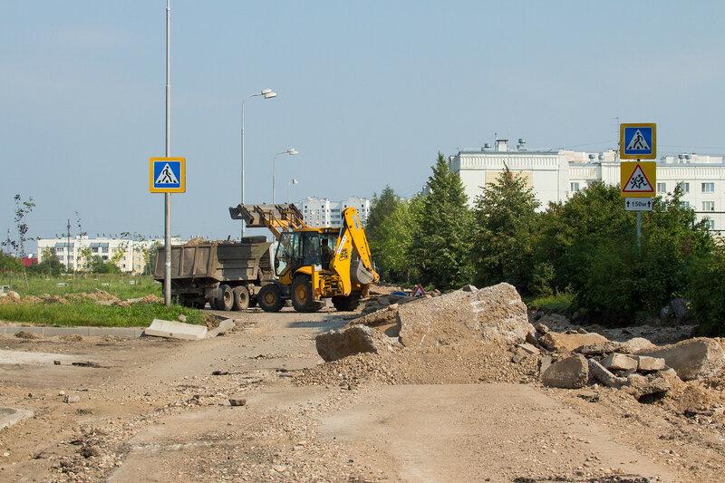 Ремонт улицы Георгиевской
