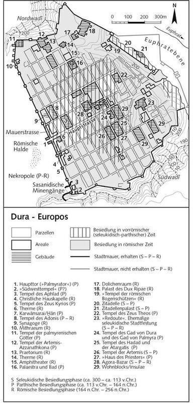 Генплан Дура-Европоса, Парфия