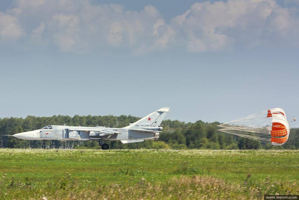 Августовские будни на авиабазе Шагол