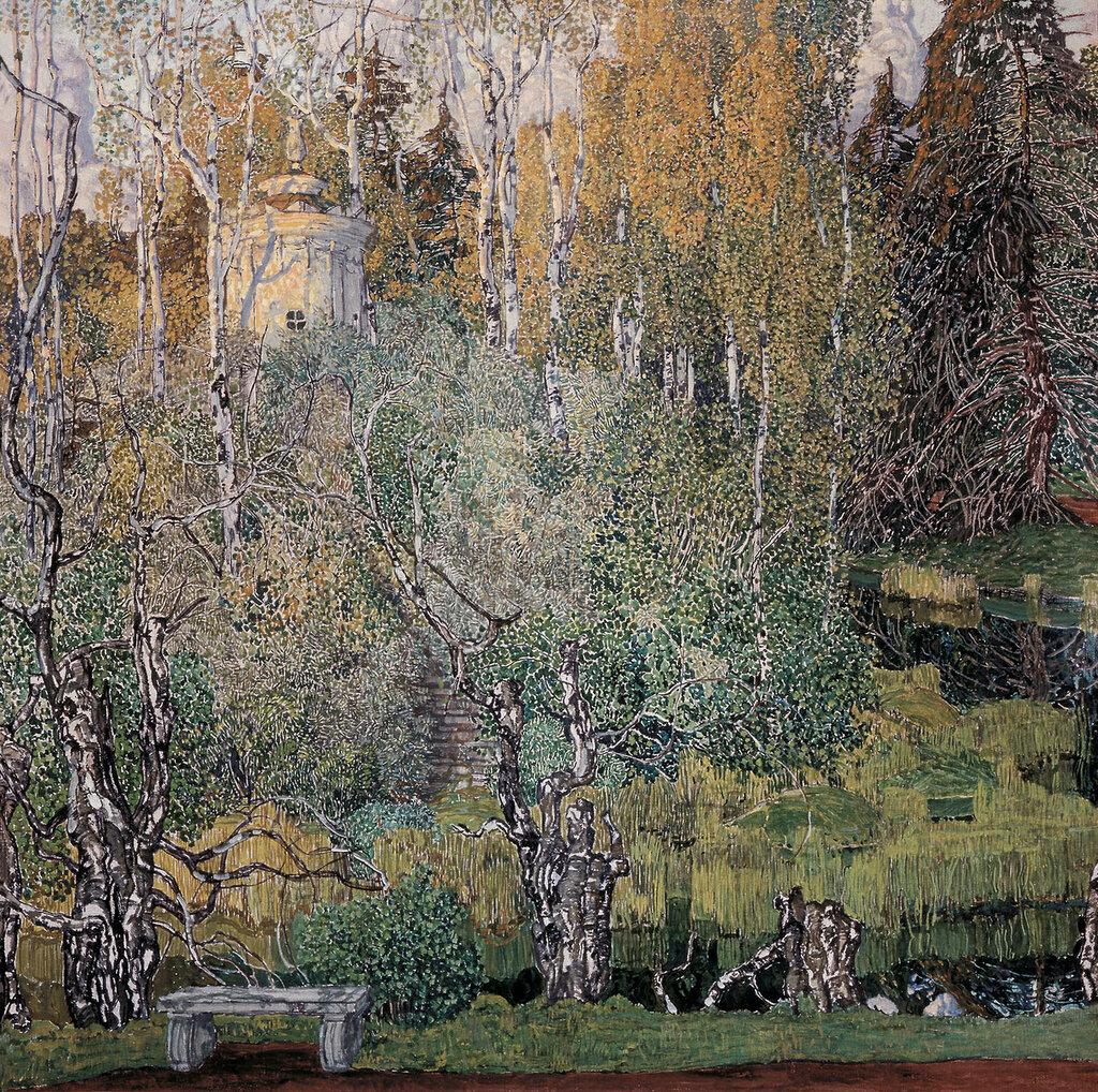 0360.Golovin.Aleksandr.Neskuchnyiy.sad.1910-e.holst.maslo.jpg