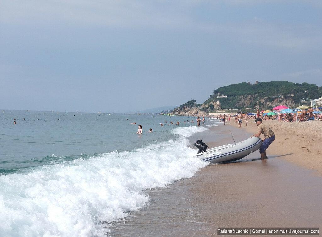 Калелья. Средиземное море. Испания