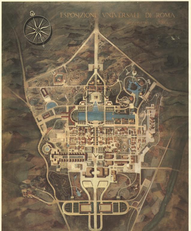 Генеральный план Барселоны 1859 года: giper