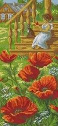 Журнал Panna ПС 1267 Маки у крыльца