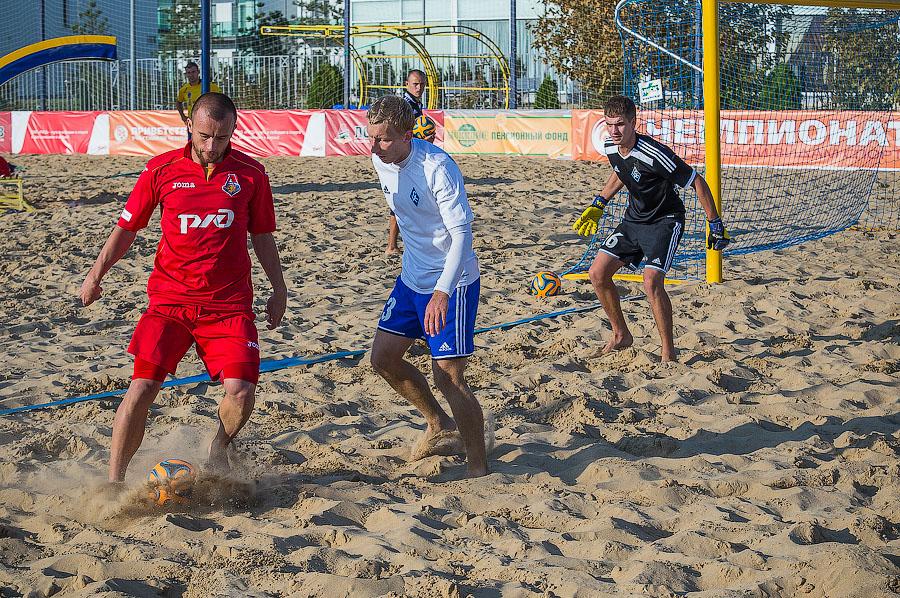Анапа футбол на пляже