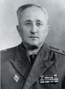 Советский генерал-майор Ханин Бер-Мордух Гиршевич