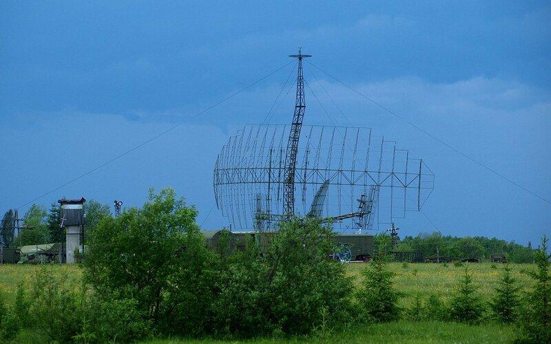 большой радар в военной части под Омутнинском в/ч 93515