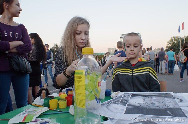 Лето, давай до свидания, Саратов, Театральная площадь, 06 сентября 2014 года
