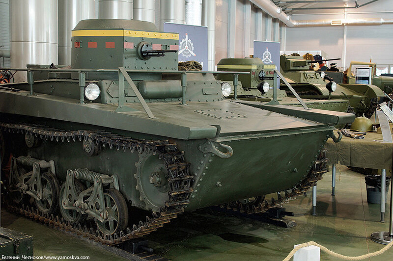 Весна. Олдтаймеры. Плав танк Т37А. 06.03.15.01..jpg