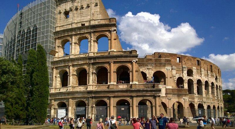 Itália, Roma, o Coliseu