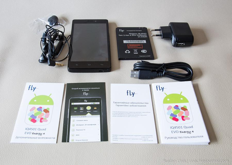 FLY IQ4501 Quad EVO Energy 4