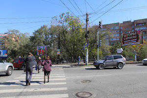 На проспекте Острякова во Владивостоке появился светофор