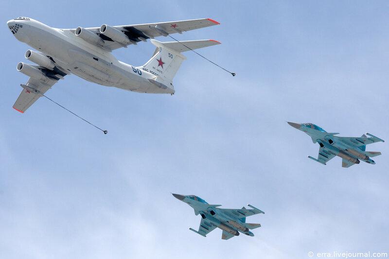 Дозаправка. Су-34