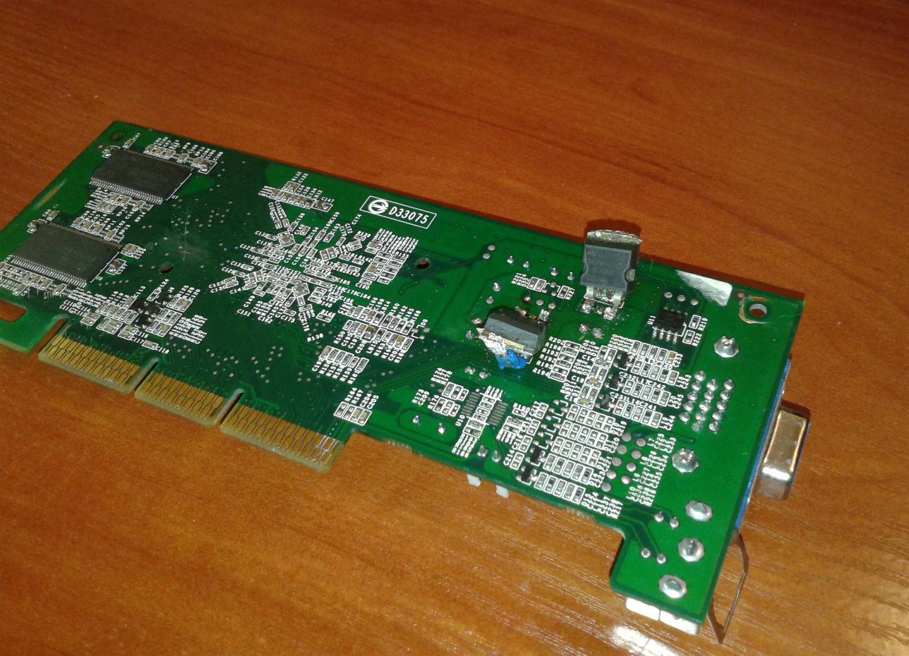 Ремонт nvidia fx5200