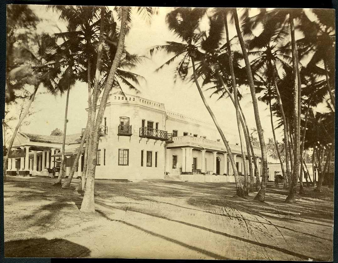 Коломбо. Отель Уэльс. 1900