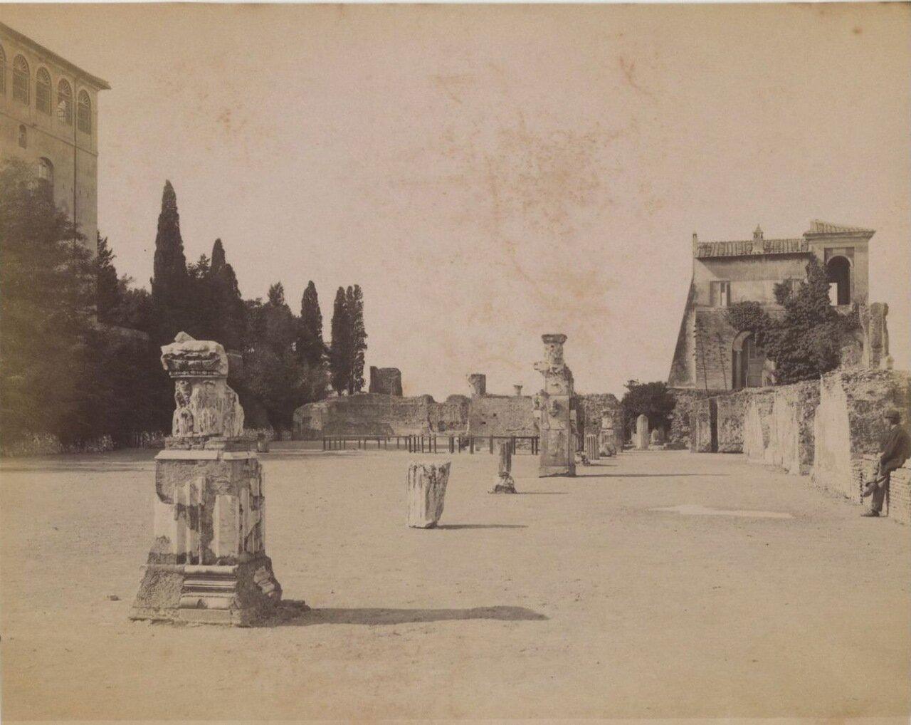 Дворец Цезарей. Триклиний
