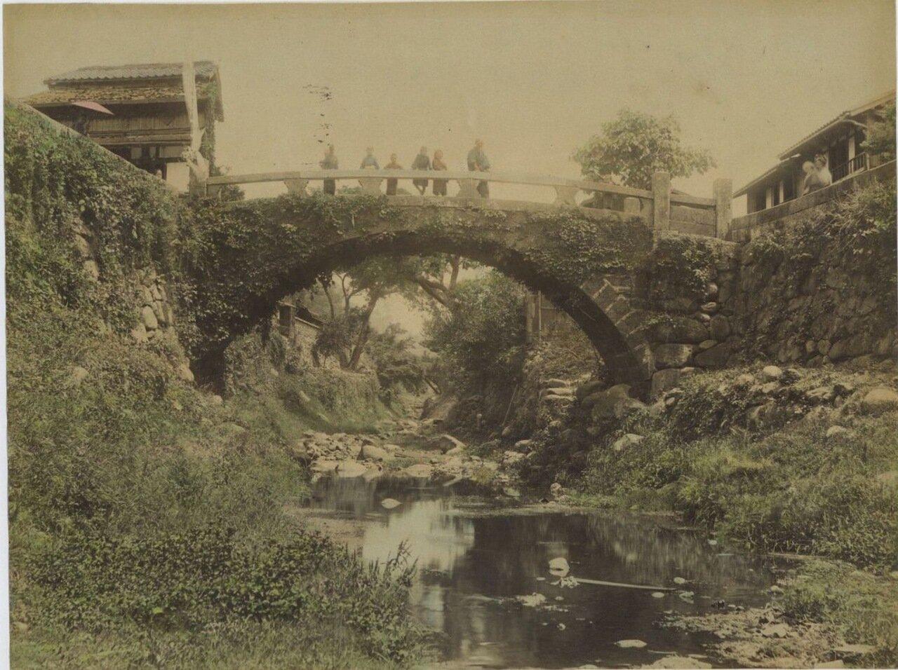 Нагасаки. Мост в пригороде