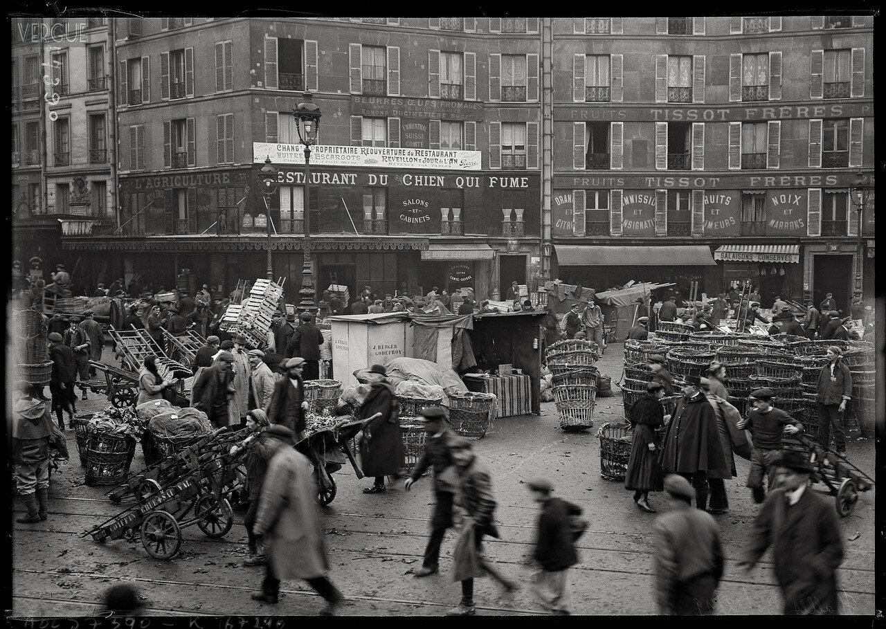 1919. Ресторан «У Курящей Собаки», рю Пон-Неф, 30 декабря
