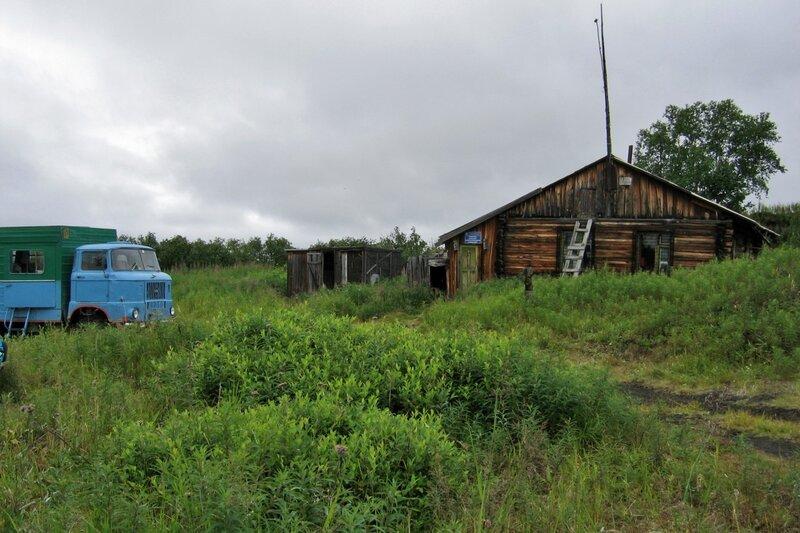 Домик вулканологов, Толбачик, Камчатка