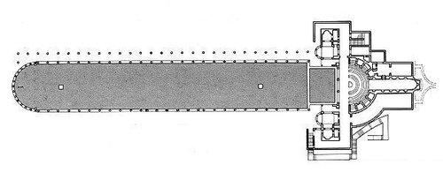 Вилла Адриана в Тиволи, Канопа — водоём размерами 119×18