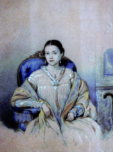 Любовь Кузьминична Кузина - Алфераки (1824-1906)