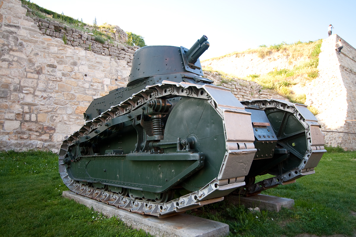 Французский лёгкий танк Рено FT-17