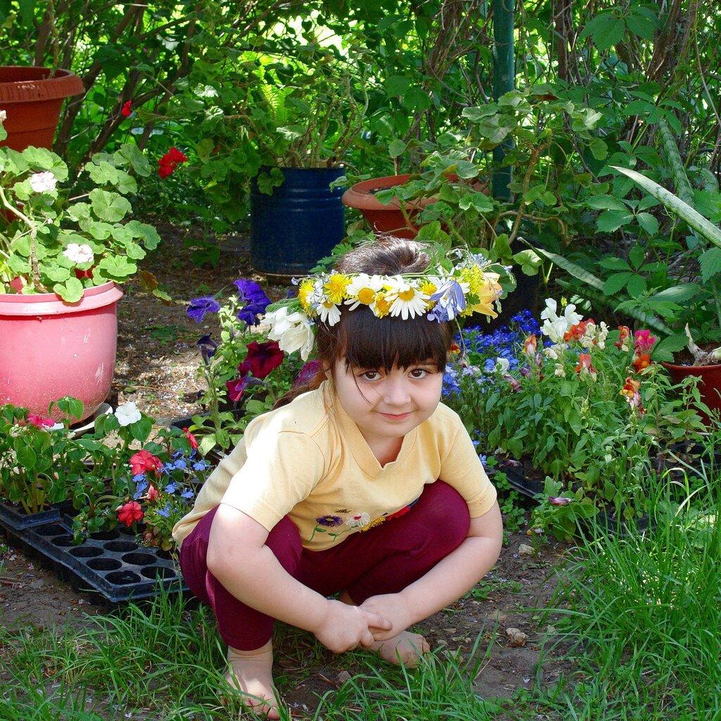 Весна,с.Остров,райский садик,Александра