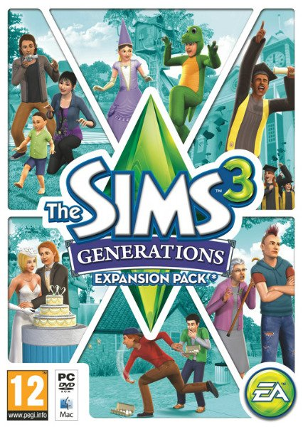 The Sims 3: Generations / Sims 3: Все возрасты (2011/ENG/RUS)