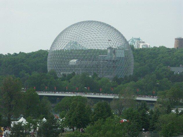 Монреальская биосфера (Montreal Biosphere). Канада