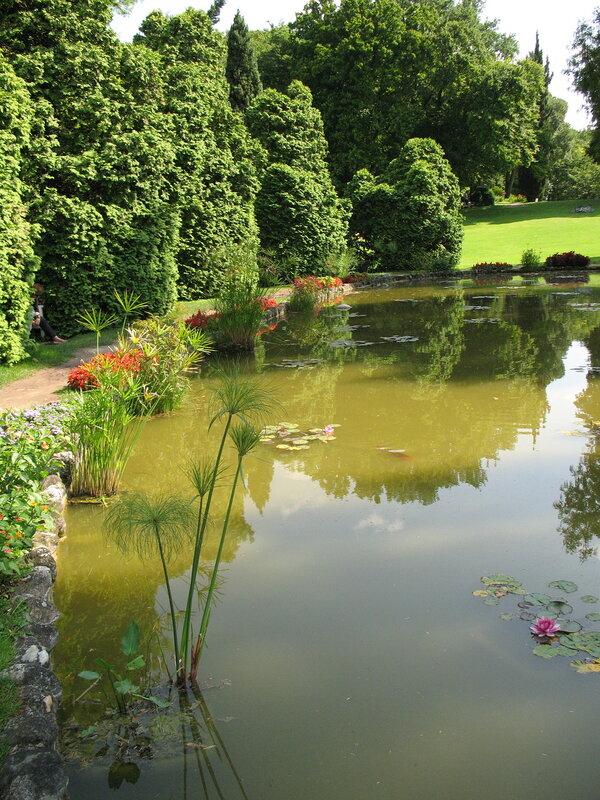 В Парке Сигурта.Водяные сады.