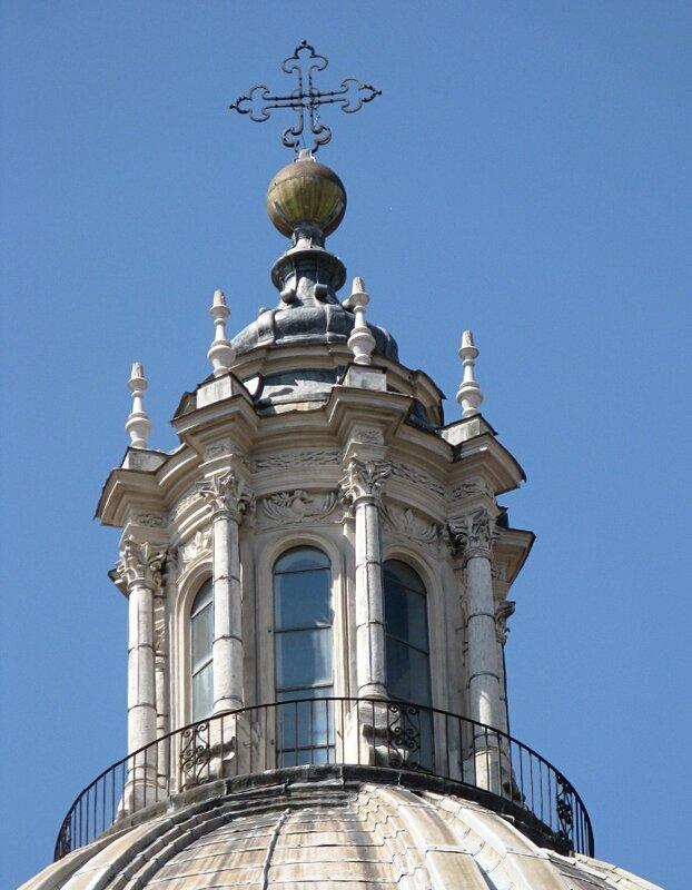 Рим. Церковь Сант-Аньезе-ин-Агоне (Chiesa di Sant'Agnese in Agone)