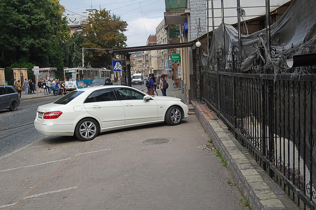парковка по европейски