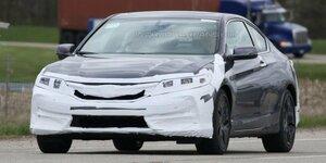 Компания Honda проводит испытания нового Accord