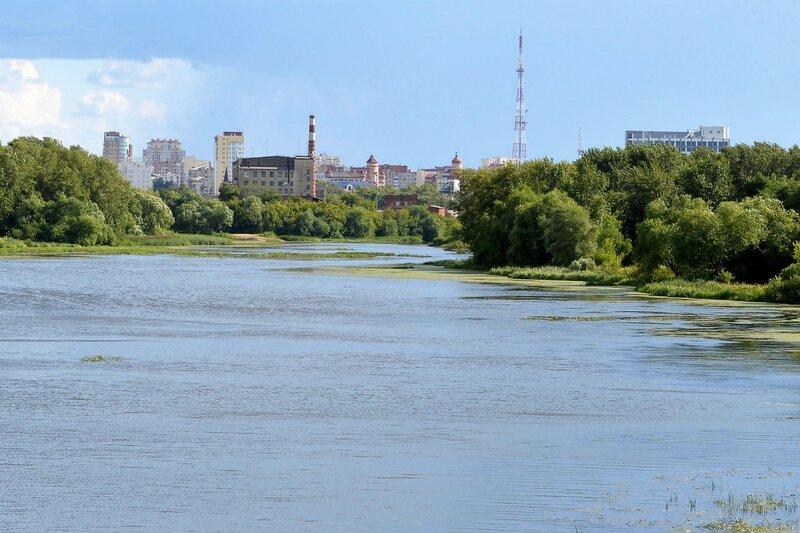 Город на реке Миасс