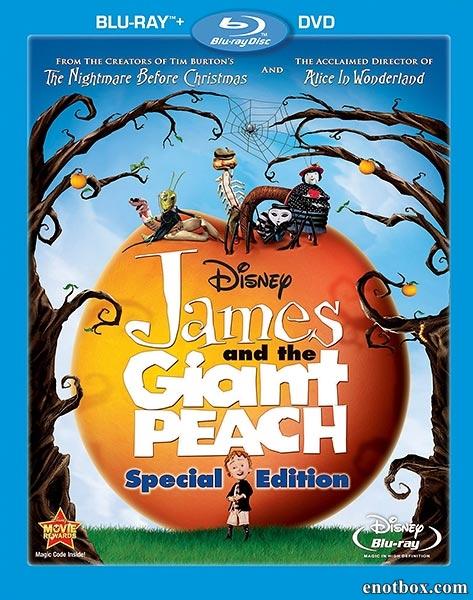 Джеймс и гигантский персик / James and the Giant Peach (1996/BDRip/HDRip)