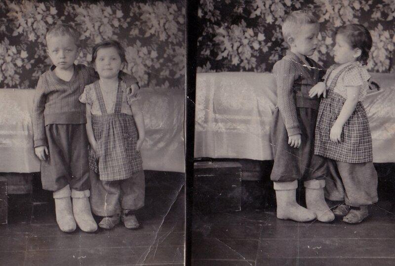 Дети нашего городка 1954 год.