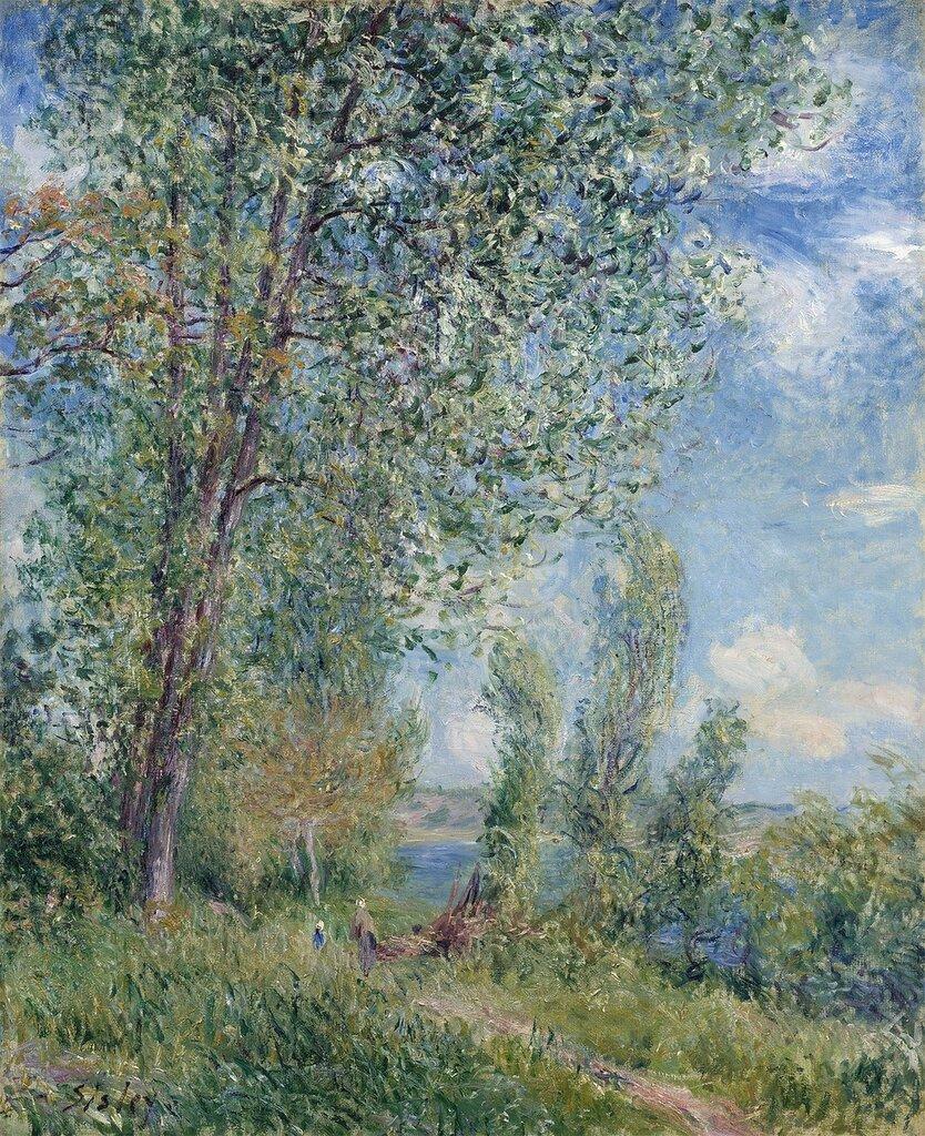 Alfred Sisley - Le coup de vent, Matin de Mai - 28608-20.jpg