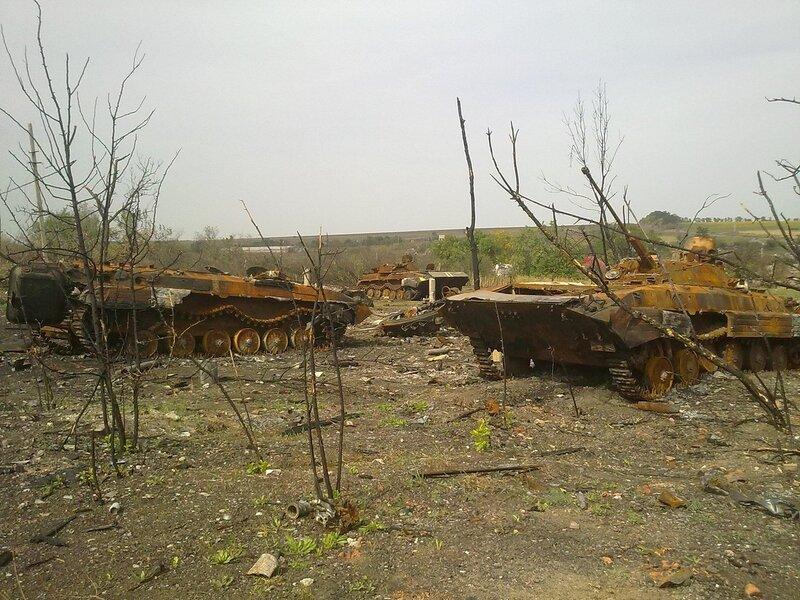 Осень в ДНР.