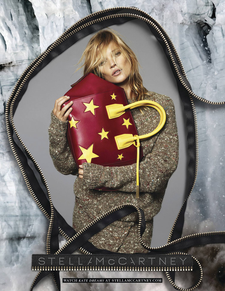 Кейт Мосс в рекламе Stella McCartney (4 фото)