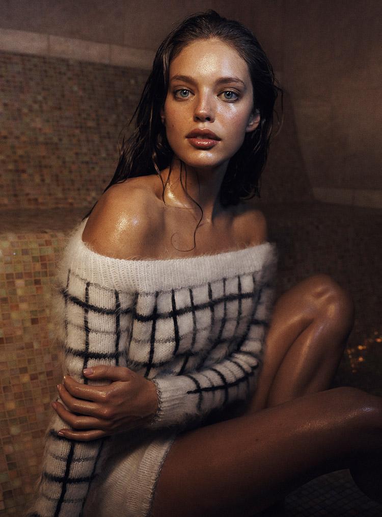 Эмили ДиДонато в июньском Vogue Australia 2014